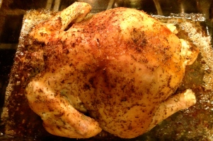 Thyme & Cayenne Roasted Chicken